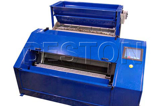 Beston plastic granule machine