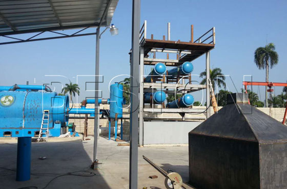 Beston plastic to oil machine in Dominica