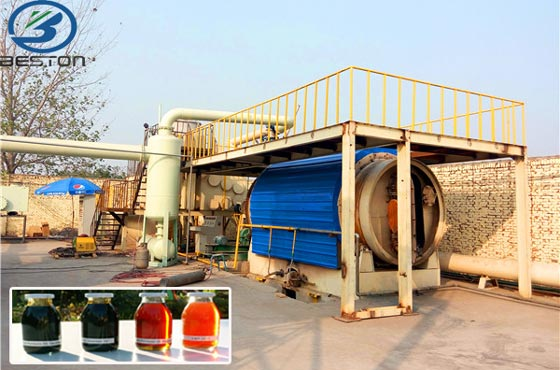 Waste Tyre to Oil Plant - Recycling Waste Tires to Oil