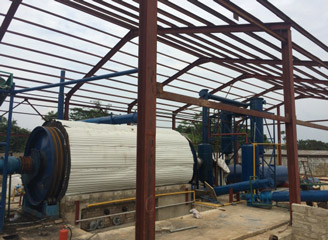 BLJ-10 Batch Operating Pyrolysis Plant