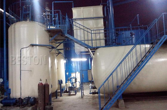 Continuous Operating Distillation Plant