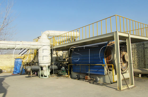 Pyrolysis Plant Was Shipped To The Netherlands 1