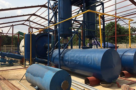 Semi-automatic Pyrolysis Plant For Sale