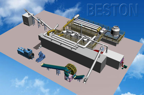 medical waste pyrolysis plant for sale