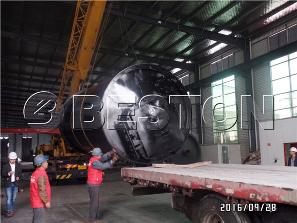 Beston BLJ 10 Waste Pyrolysis Plant Was Exported to South Korea
