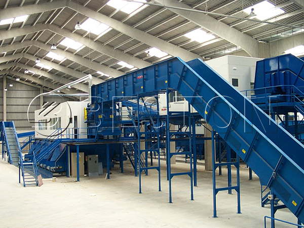 waste sorting machine