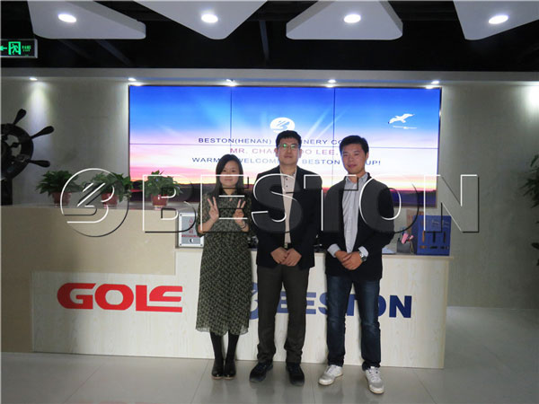 mr changwoo lee come to beston group