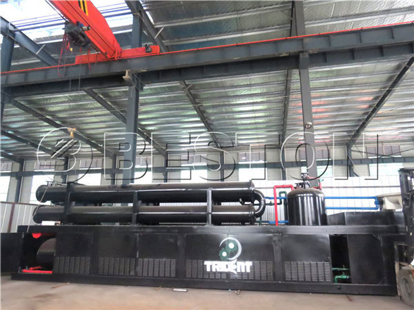 BLL-30 waste pyrolysis plant to South Africa
