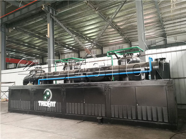 Beston continuous pyrolysis plant to South Africa