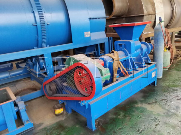 biomass carbonization plant in our factory