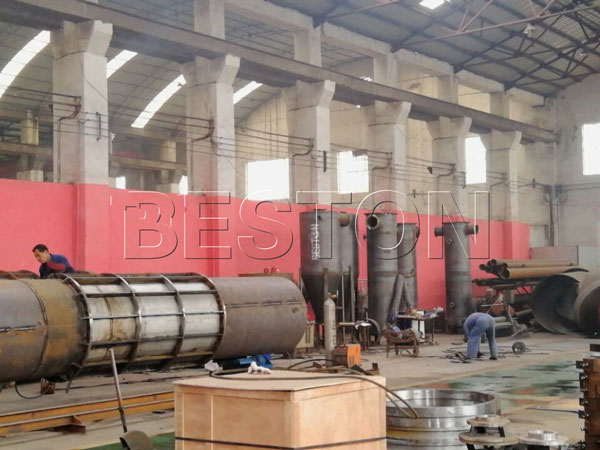 charcoal machine in our factory