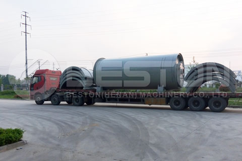 Shipment of Waste Pyrolysis Tire Plant to Brazil
